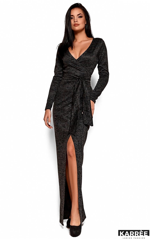 Платье Карла, Черный - фото 4