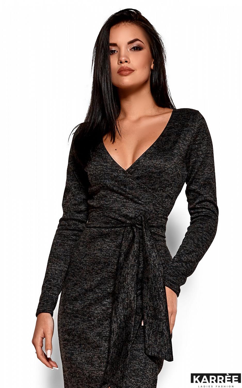 Платье Карла, Черный - фото 2