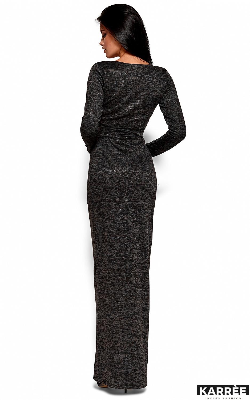 Платье Карла, Черный - фото 3
