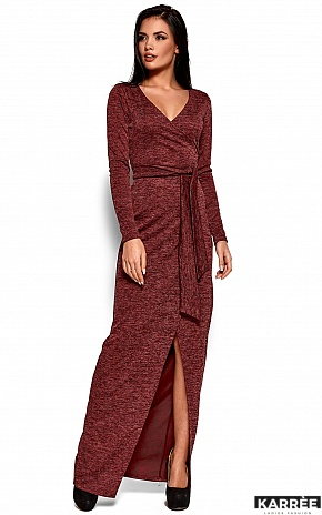Платье Карла, Бордо - фото 1