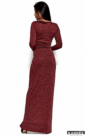 Платье Карла, Бордо - фото 3