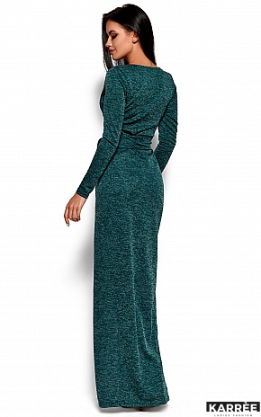 Платье Карла, Темно-зеленый - фото 3