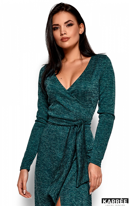 Платье Карла, Темно-зеленый - фото 2