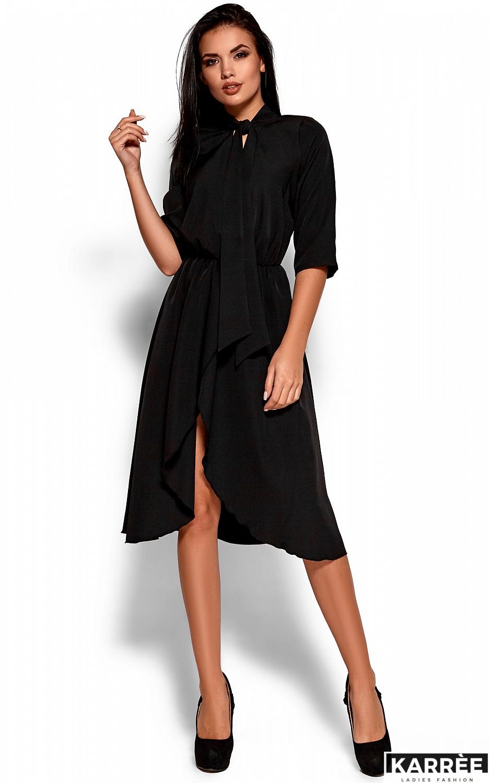 Платье Марта, Черный - фото 1