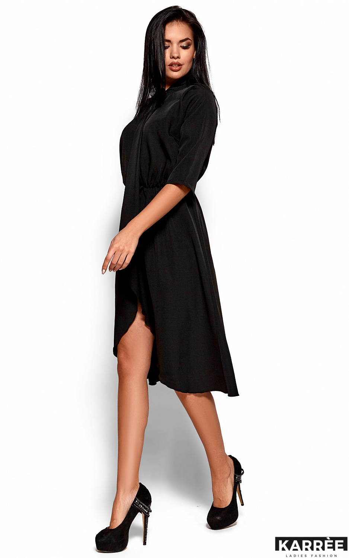 Платье Марта, Черный - фото 4