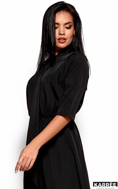 Платье Марта, Черный - фото 2
