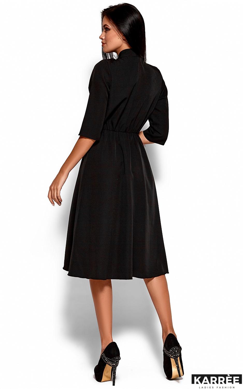 Платье Марта, Черный - фото 3