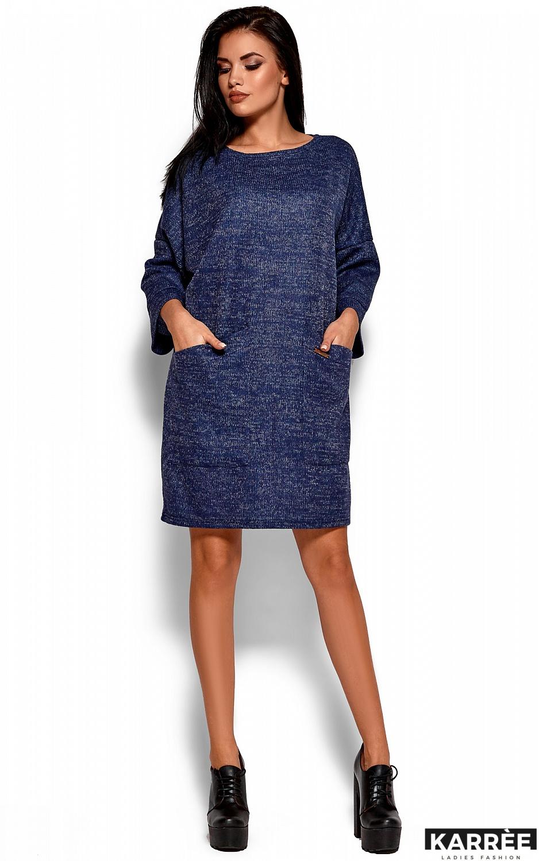Платье Деми, Темно-синий - фото 1