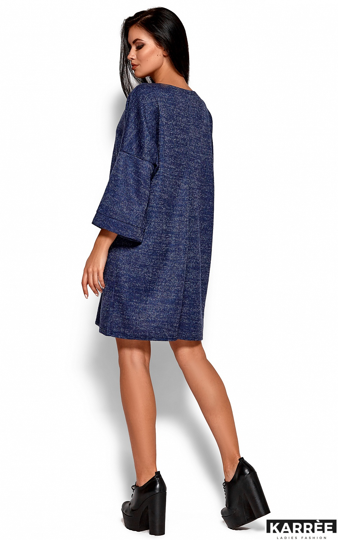 Платье Деми, Темно-синий - фото 3