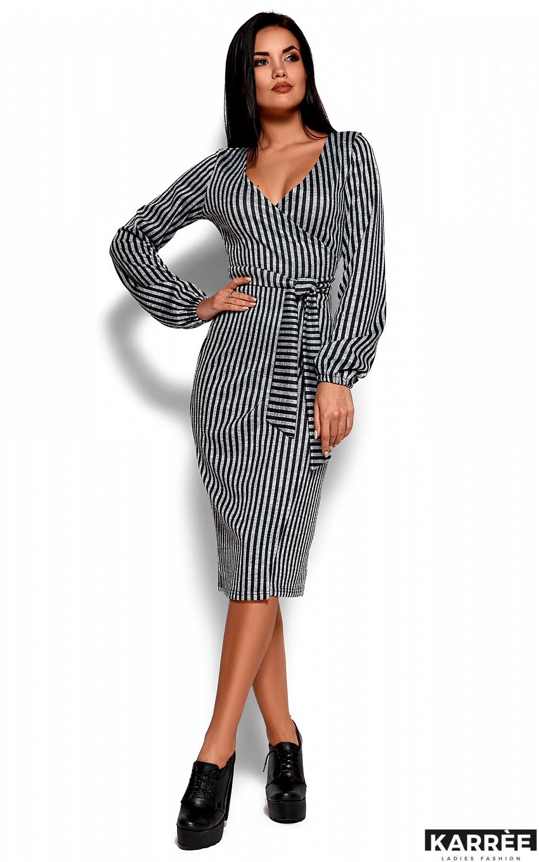 Платье Мадди, Черный - фото 4