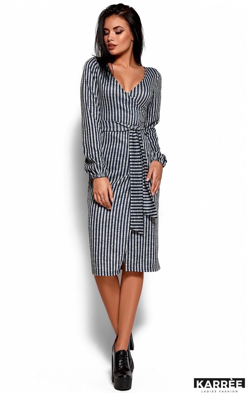 Платье Мадди, Темно-синий - фото 4