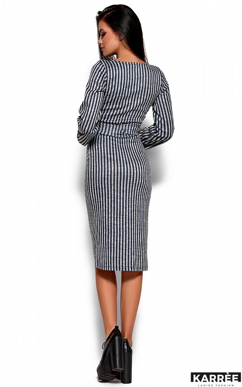 Платье Мадди, Темно-синий - фото 3