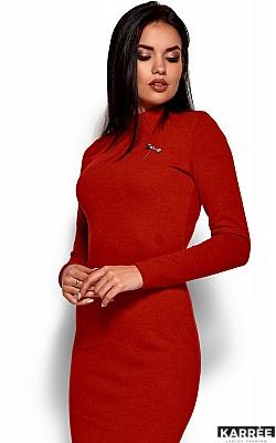 Платье Брюс, Красный