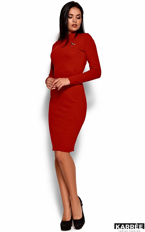 Платье Брюс, Красный - фото 4