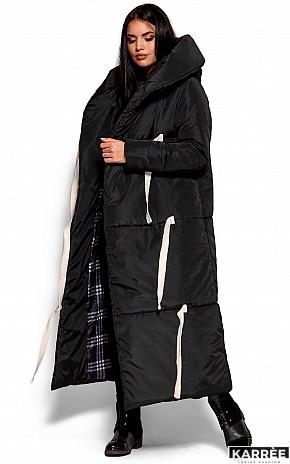 Пальто Тейлор, Черный - фото 5