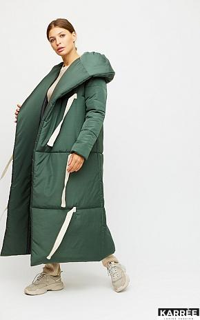 Пальто Тейлор, Темно-зеленый - фото 1