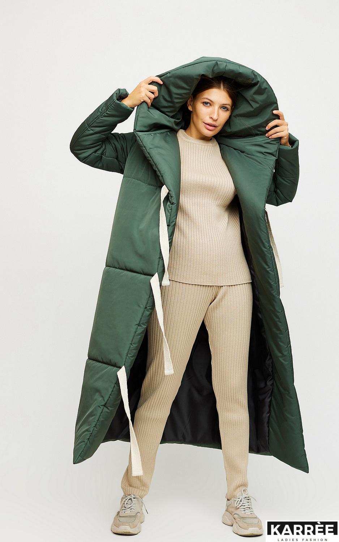Пальто Тейлор, Темно-зеленый - фото 2