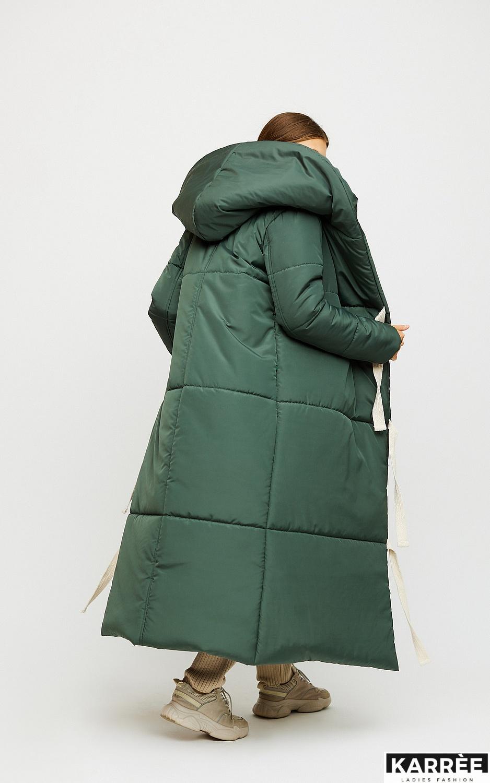 Пальто Тейлор, Темно-зеленый - фото 4