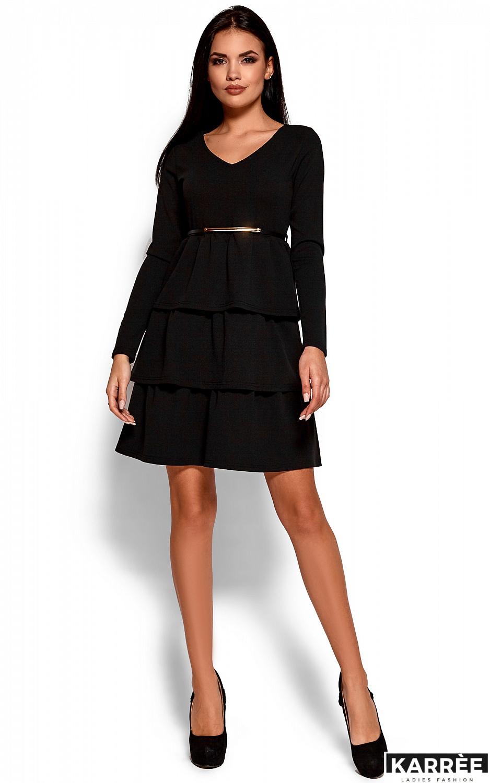 Платье Шарлиз, Черный - фото 1