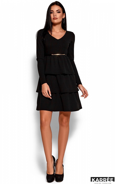 Платье Шарлиз, Черный - фото 4