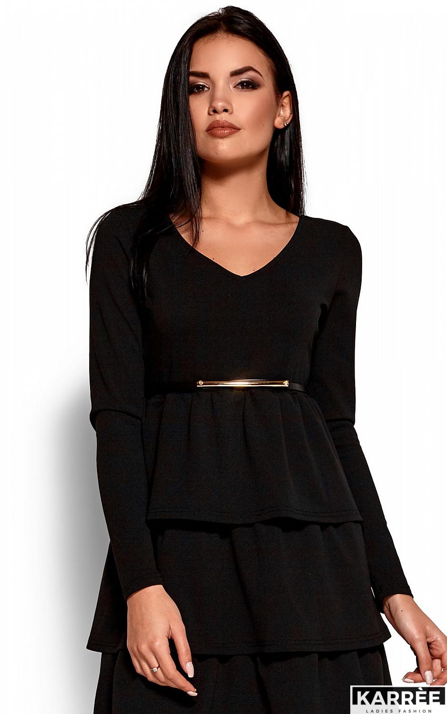 Платье Шарлиз, Черный - фото 2