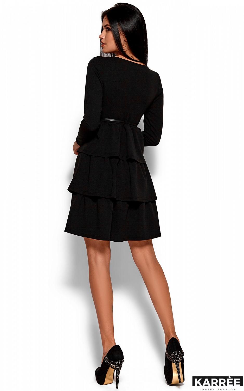 Платье Шарлиз, Черный - фото 3