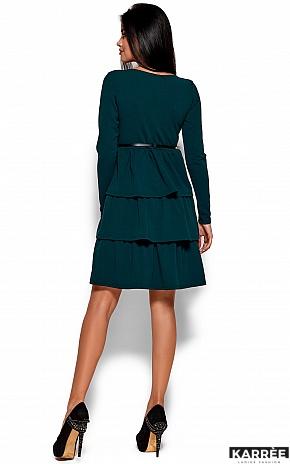 Платье Шарлиз, Темно-зеленый - фото 3