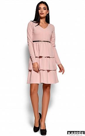 Платье Шарлиз, Пудровый - фото 3