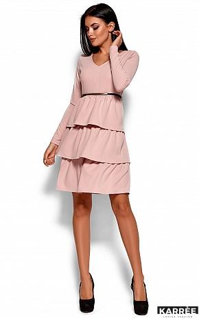 Платье Шарлиз, Пудровый - фото 1