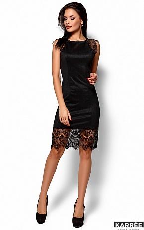 Платье Алира, Черный - фото 1