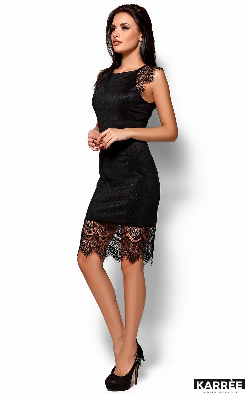 Платье Алира, Черный - фото 4