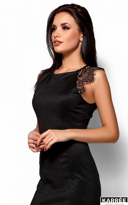 Платье Алира, Черный - фото 2