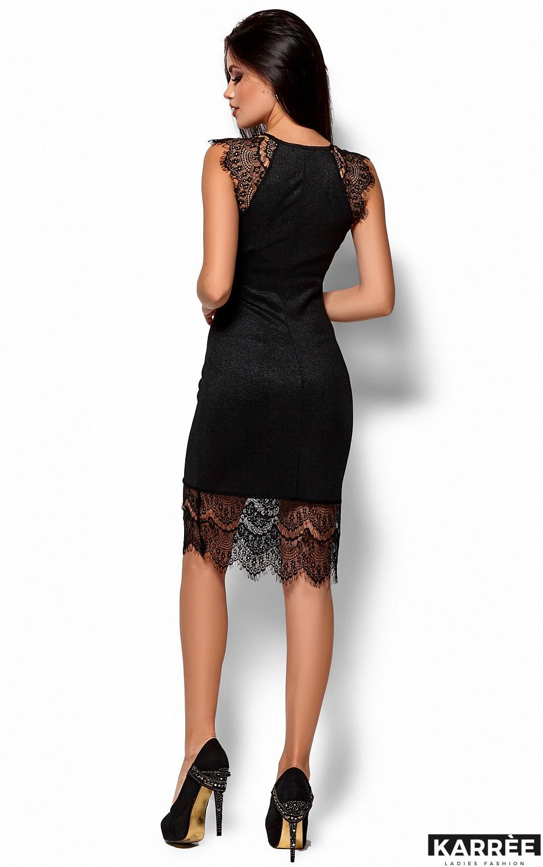 Платье Алира, Черный - фото 3