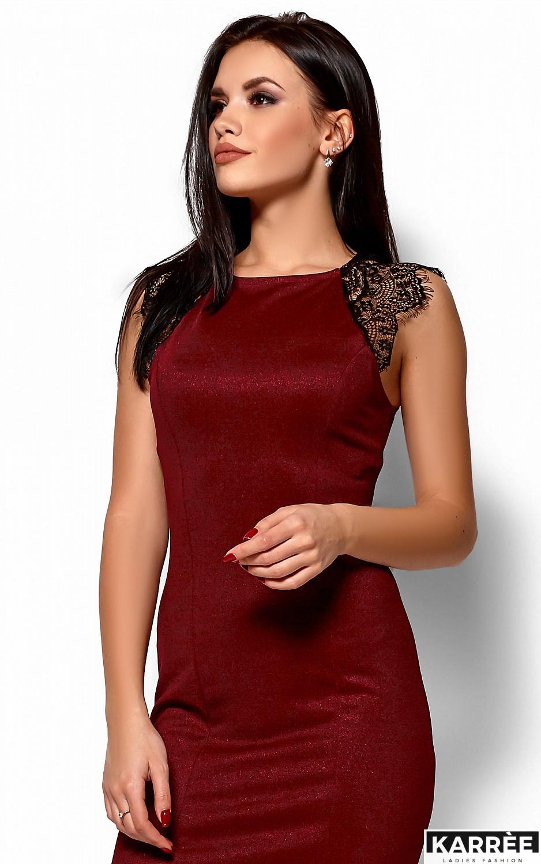Платье Алира, Марсала - фото 2