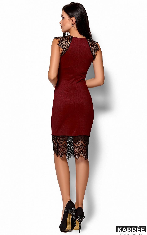 Платье Алира, Марсала - фото 3