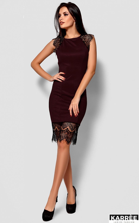 Платье Алира, Бургунди - фото 2