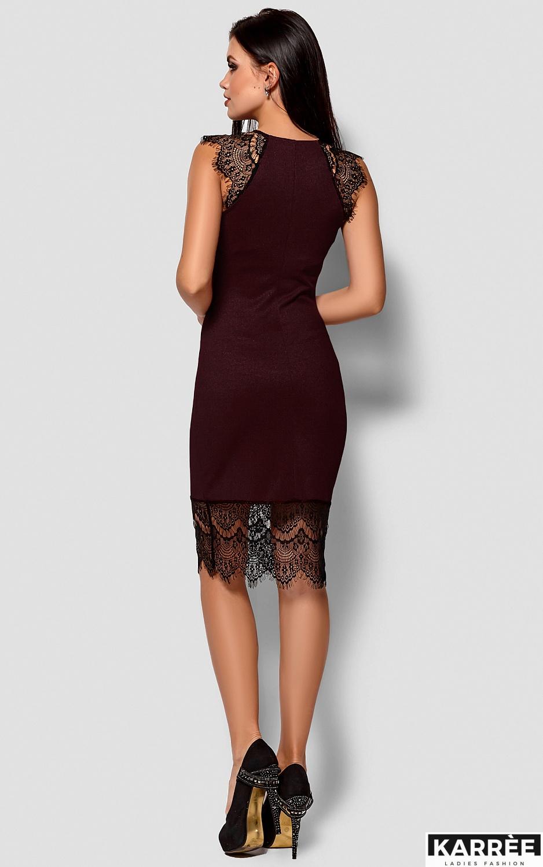 Платье Алира, Бургунди - фото 3
