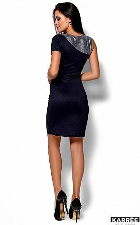 Платье Зара, Темно-синий - фото 3