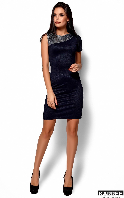 Платье Зара, Темно-синий - фото 1