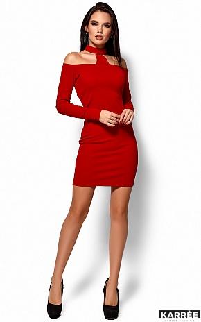 Платье Юлиана, Красный - фото 1