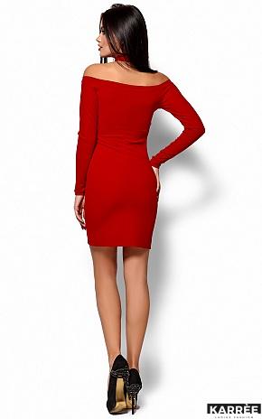 Платье Юлиана, Красный - фото 3