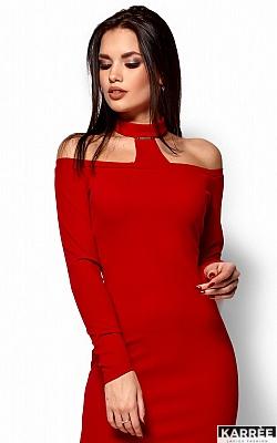 Платье Юлиана, Красный