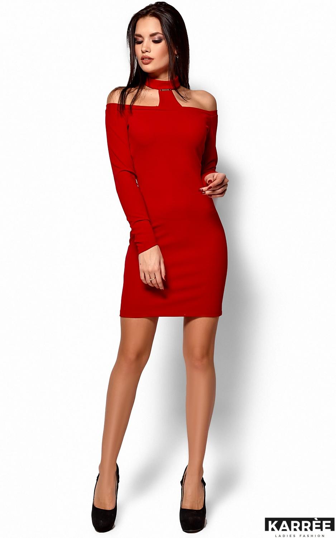 Платье Юлиана, Красный - фото 4