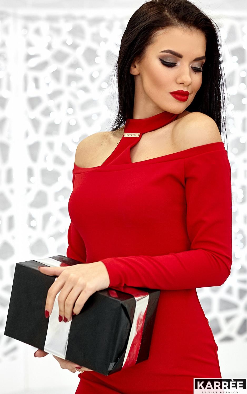 Платье Юлиана, Красный - фото 5