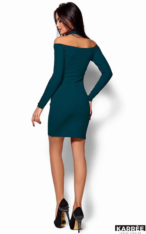 Платье Юлиана, Темно-зеленый - фото 3