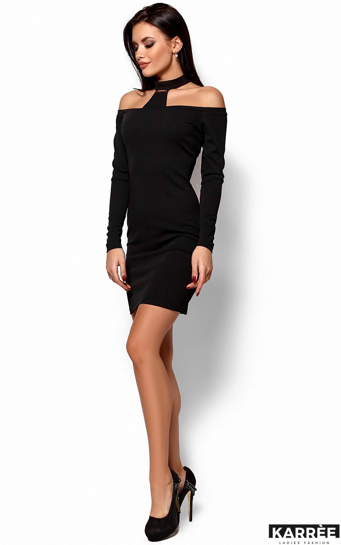 Платье Юлиана, Черный - фото 4