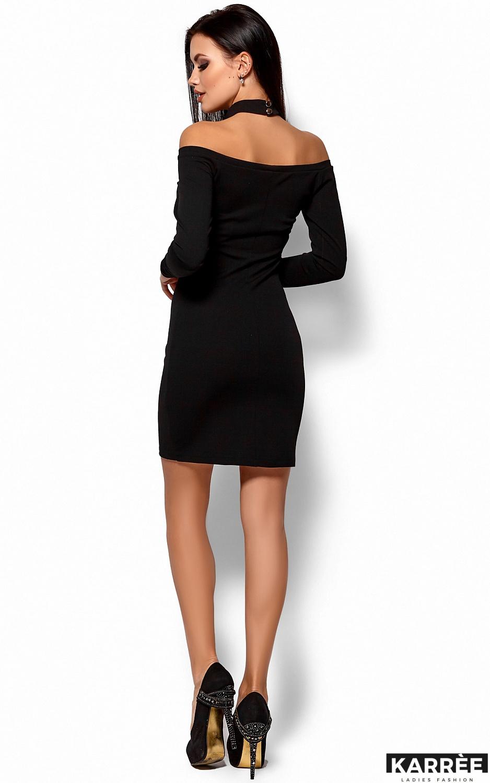 Платье Юлиана, Черный - фото 3