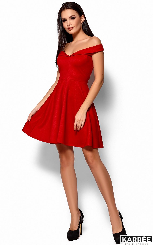 Платье Айла, Красный - фото 4