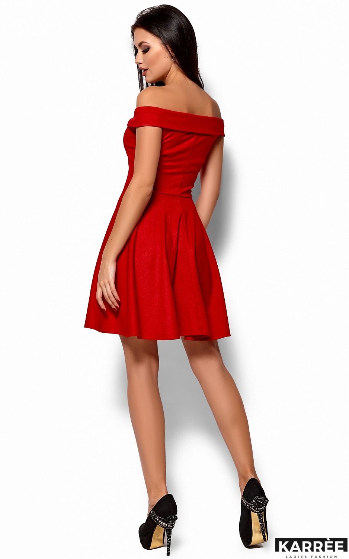 Платье Айла, Красный - фото 3