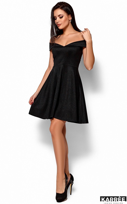 Платье Айла, Черный - фото 4